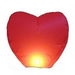 Heart Shaped Wedding Sky Lantern