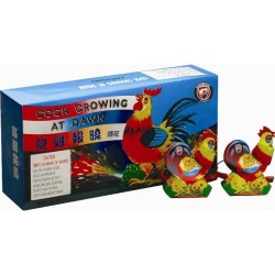 Cock Crowing At Dawn 24/pk