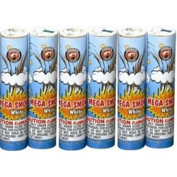 Mega Smoke White 6/Pk