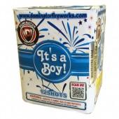 It's a Boy! (All Blue Gender Reveal Fireworks)