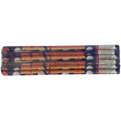 Wholesale Fireworks Blue Thunder 10 Ball Roman Candles 24/6 Case