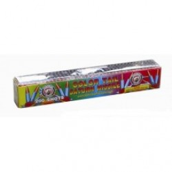 Wholesale Fireworks 200 Shot Color Tail Saturn Missile Case 18/1