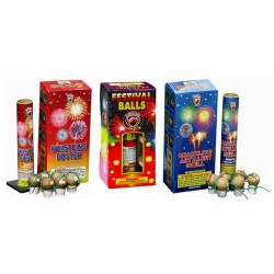 18 Shot Artillery Shell Assortment 3-Pack