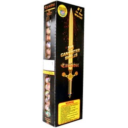 Wholesale Fireworks Excalibur Artillery Shells Kit Case 24/6