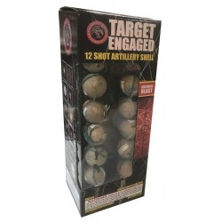 Target Engaged 12 Shot Artillery Kit W/ Tails