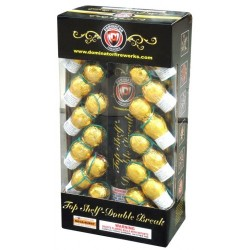 Wholesale Fireworks Top Shelf Double Break Artillery Shells Case 6/12