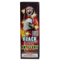 Wholesale Fireworks Dominator Black Box Artillery Shells Case 12/6