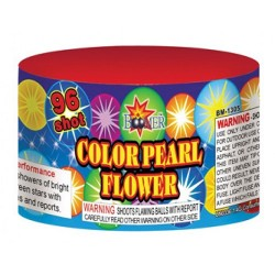 96 Shot Color Pearl Flower