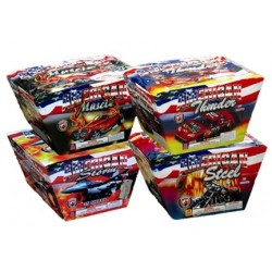 American Series Assortment 4/Pk