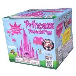 Princess Parachutes (Pink Smoke Daytime Firework)
