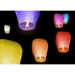 Sky Lantern Assorted Colors