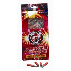 "Wholesale Fireworks Dominator 1"" Water Crackers Case 100/100"