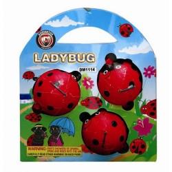 Ladybugs 3/Pk