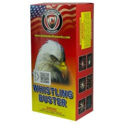 Whistling Buster Artillery Shells 6 Shots